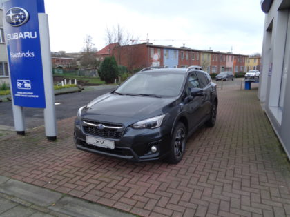 "New Subaru XV 20DI Premium Lineartronic Cvt ""Eyesight"" Dark Grey Metallic 2018."